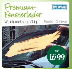 Premium Fensterleder