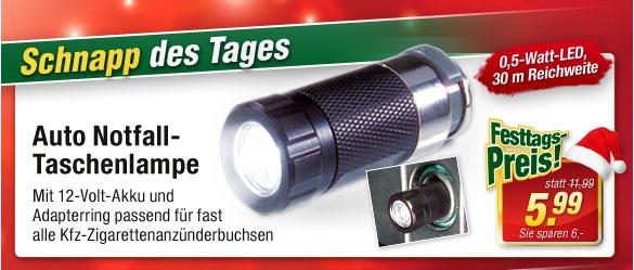 Auto Notfall-Taschenlampe