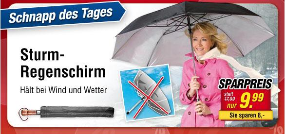 Sturm-Regenschirm