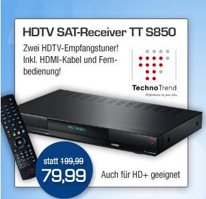 HDTV SAT-Reciver TT S850