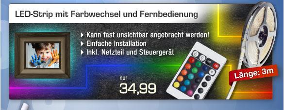 LED-Strip mit Farbwechsel