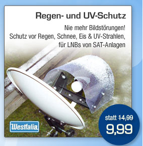Regen- und UV-Schutz