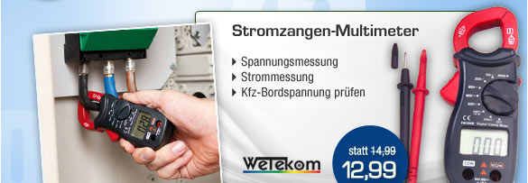 Stromzangen Multimeter