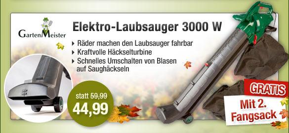 Elektro-Laubsauger