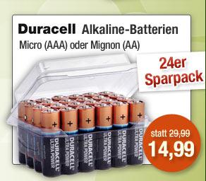 Alkaline-Batterien