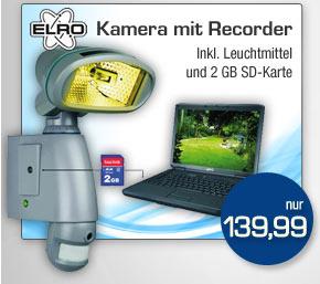 Kamera mit Recorder