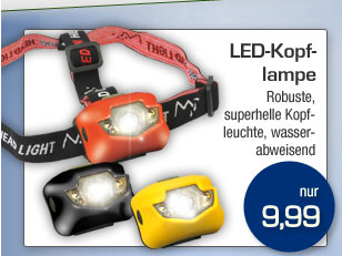 LED-Kopflampe