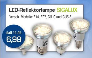 LED-Reflektorlampe Sigalux