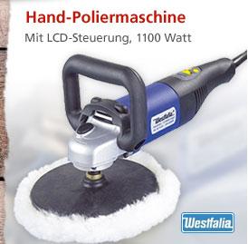 Westfalia Hand-Poliermaschine