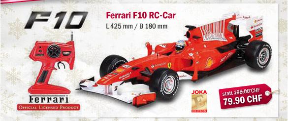 Ferrari F10 RC-Car