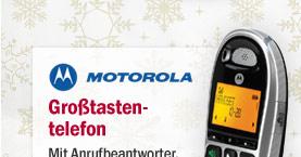 Motorola Großtastentelefon