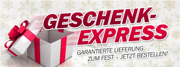 Geschenk-Express - Gerantierte Lieferung zum Fest - Jetzt bestellen!